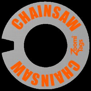 CHAINSAW ID Tag SM