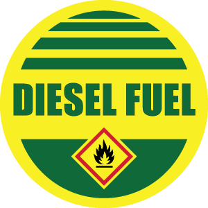 DIESEL ID Sticker RND