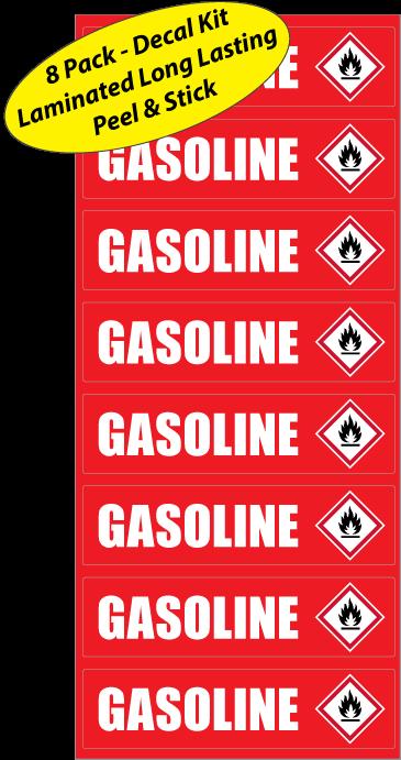Gasoline-Sticker-Identification-Fuel-Decals