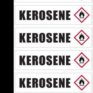 KEROSENE ID Sticker
