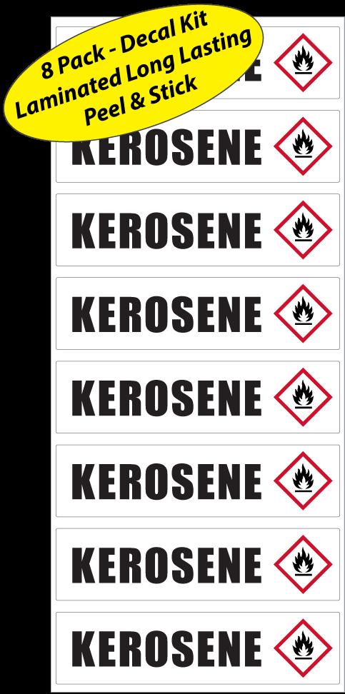 Kerosene-Identification-Sticker