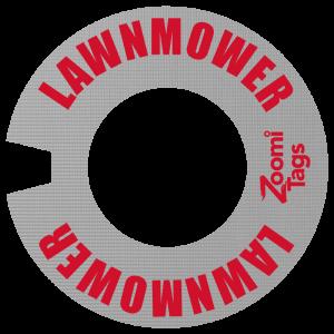 LAWNMOWER ID Tag SM
