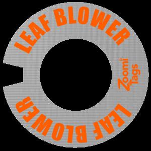 LEAF BLOWER ID Tag SM