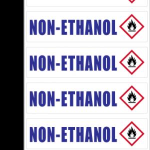 Non-Ethanol ID Sticker