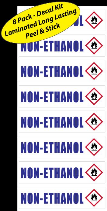 Non-Ethanol-Gas-Can-Sticker