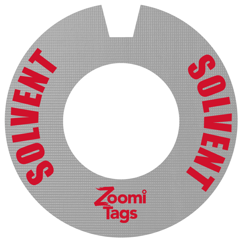 Solvent-Gas-Can-ID-Tag