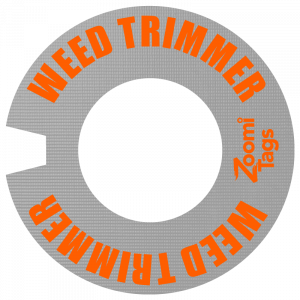 WEED TRIMMER ID Tag SM