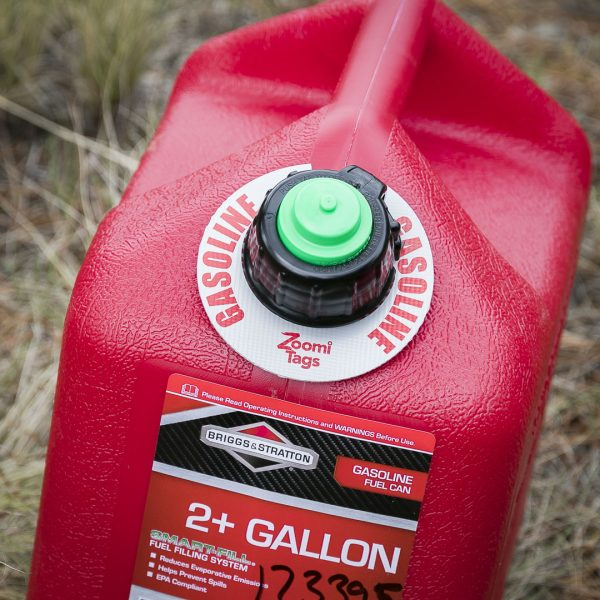 GASOLINE-Gas-Can-ID-Tag-Small