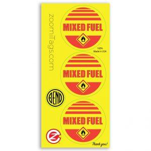 MIXED ID Sticker RND