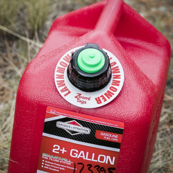 LAWNMOWER-Gas-Can-ID-Tag-Small