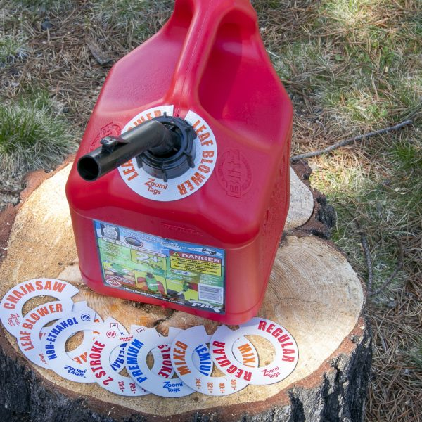 LEAF-BLOWER-Gas-Can-ID-Tag-Small-Stump-Assorted-Tags