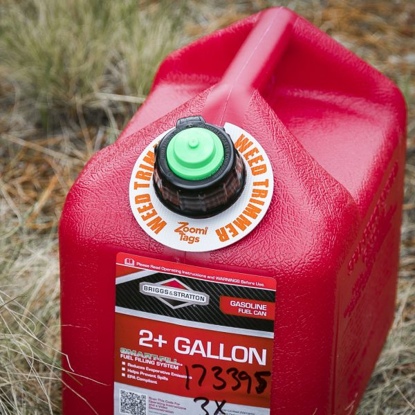 WEED-TRIMMER-Gas-Can-ID-Tag-Small